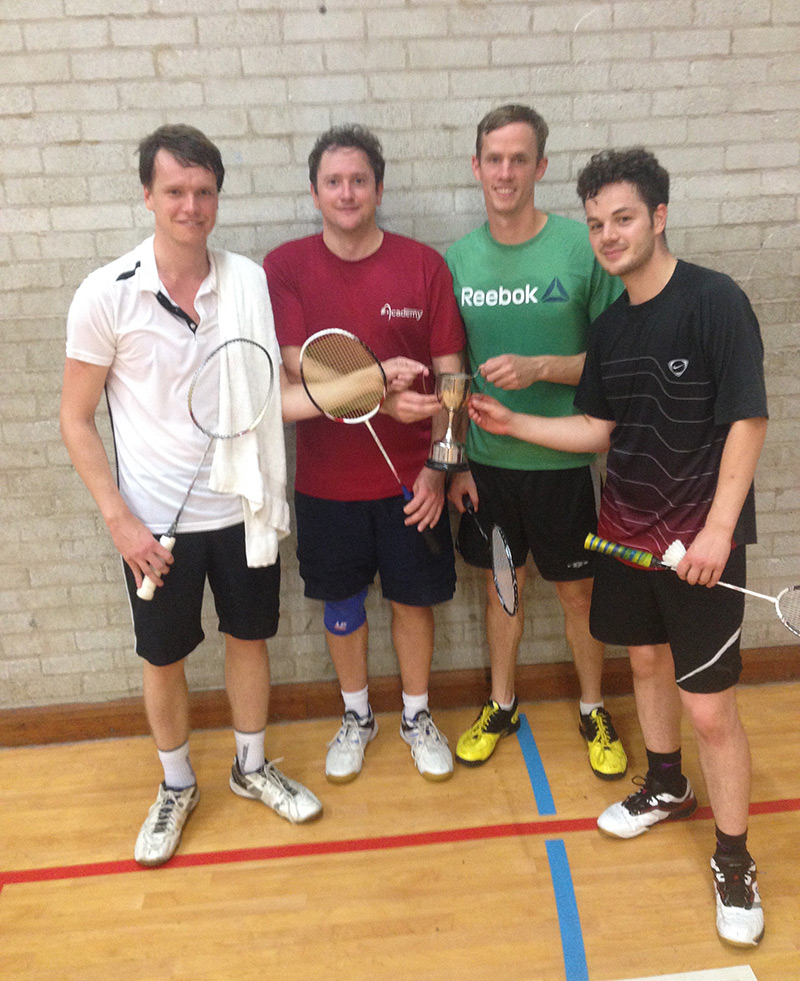 Academy Badminton Men 2 2015-16